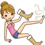 意外に多い女性の足臭のトラブル!原因をしり解決する方法